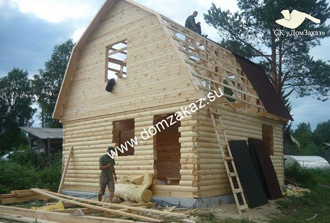 купить сруб дома недорого, срубы домов недорого